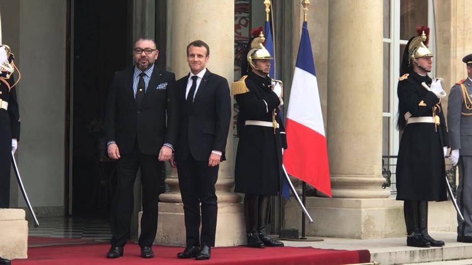 Une rencontre Mohammed VI-Macron ce mardi — Alerte
